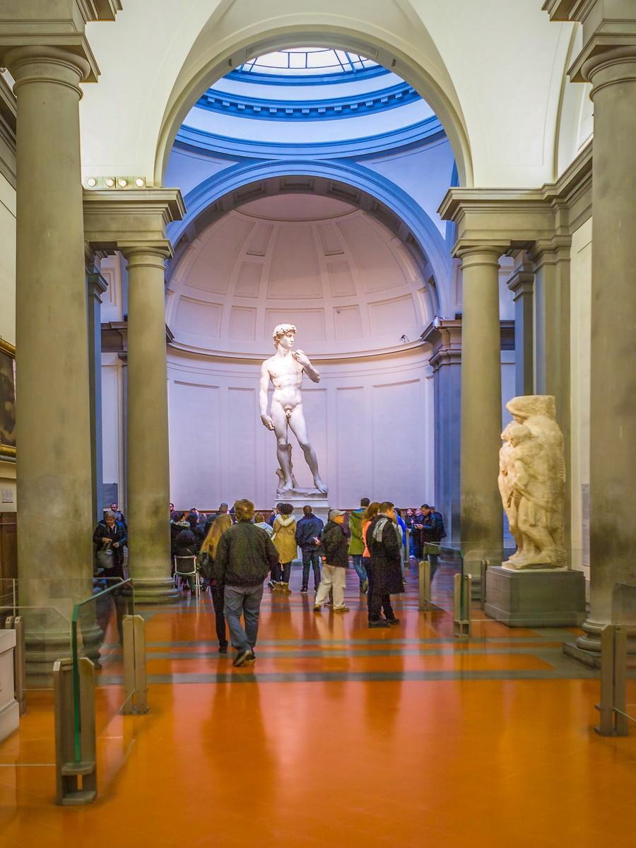 佛罗伦萨学院美术馆(Accademia Gallery),原汁原味的大卫_图1-26