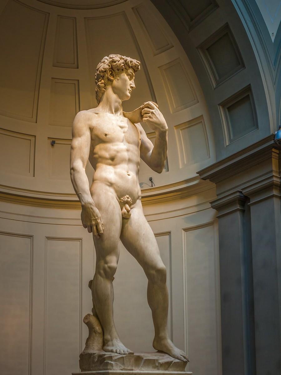 佛罗伦萨学院美术馆(Accademia Gallery),原汁原味的大卫_图1-27