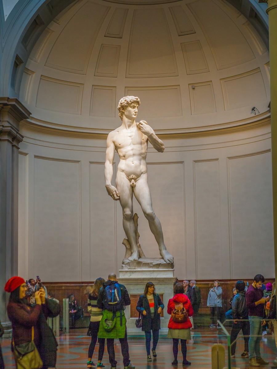 佛罗伦萨学院美术馆(Accademia Gallery),原汁原味的大卫_图1-28