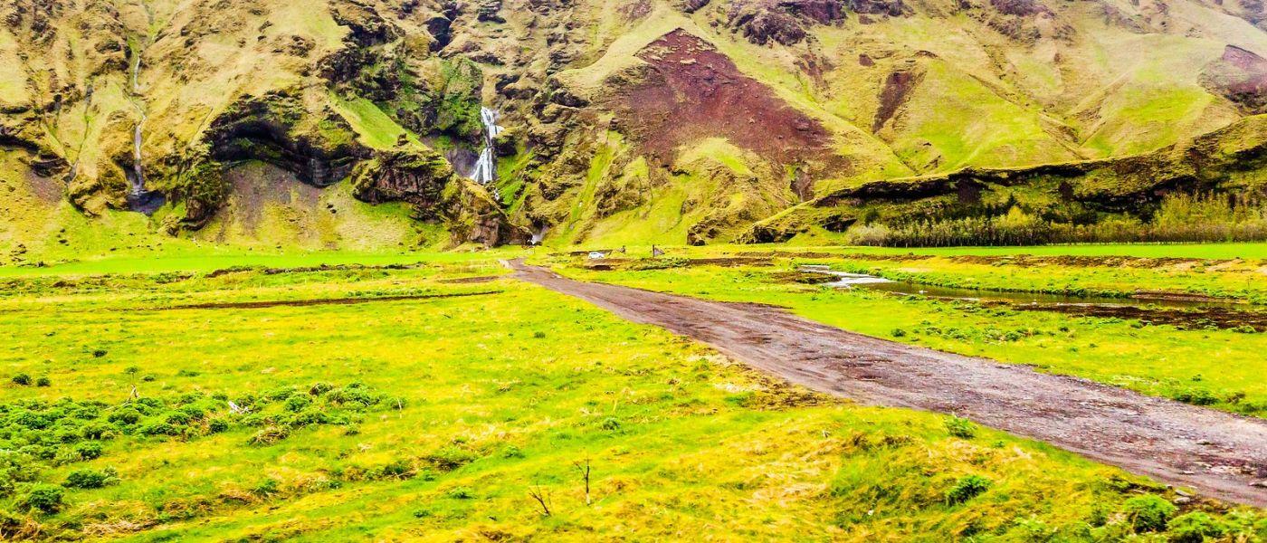 冰岛风采,山间的大小瀑布_图1-18