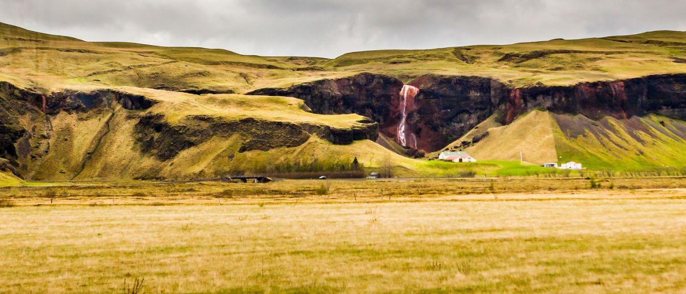 冰岛风采,山间的大小瀑布_图1-13