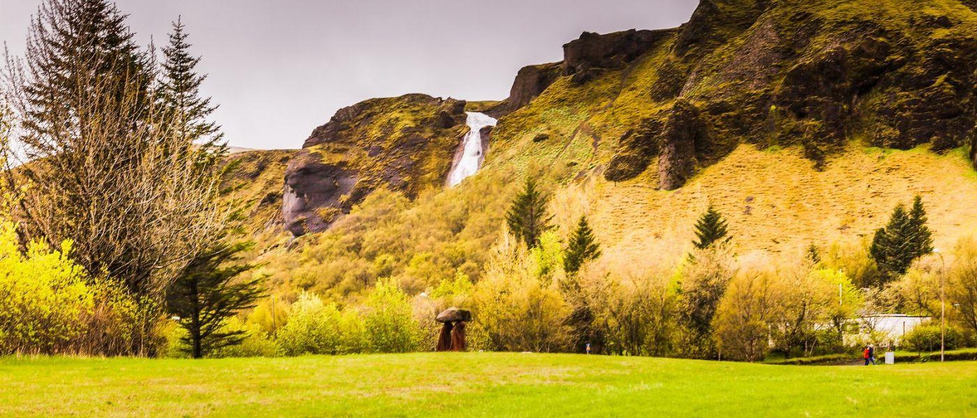冰岛风采,山间的大小瀑布_图1-15