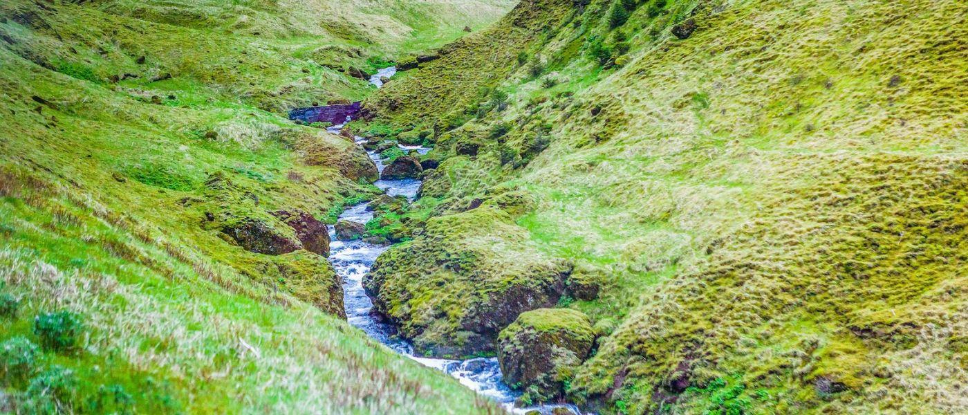 冰岛风采,山间的大小瀑布_图1-14