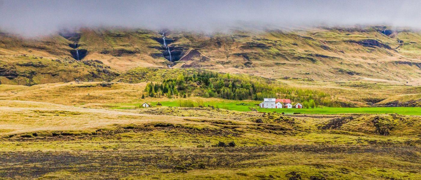 冰岛风采,山间的大小瀑布_图1-10