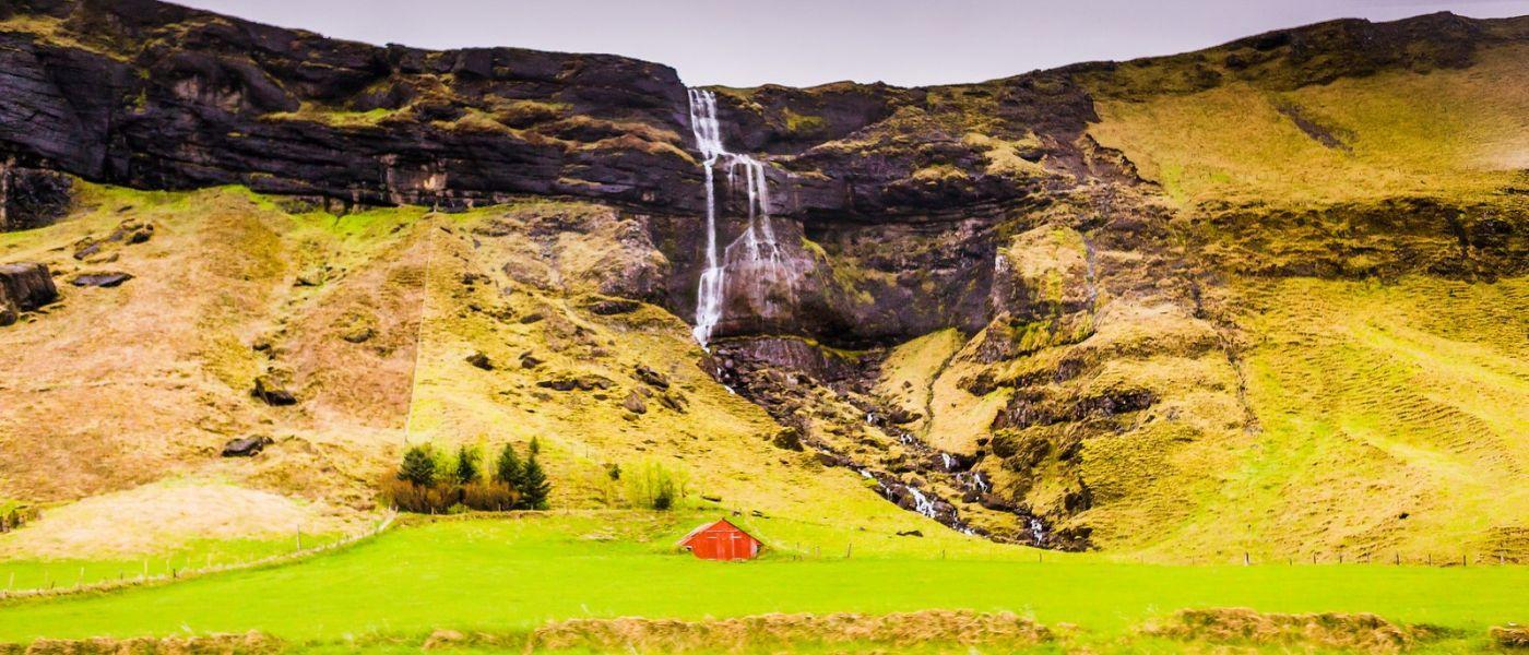 冰岛风采,山间的大小瀑布_图1-11