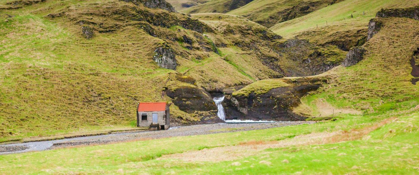 冰岛风采,山间的大小瀑布_图1-12