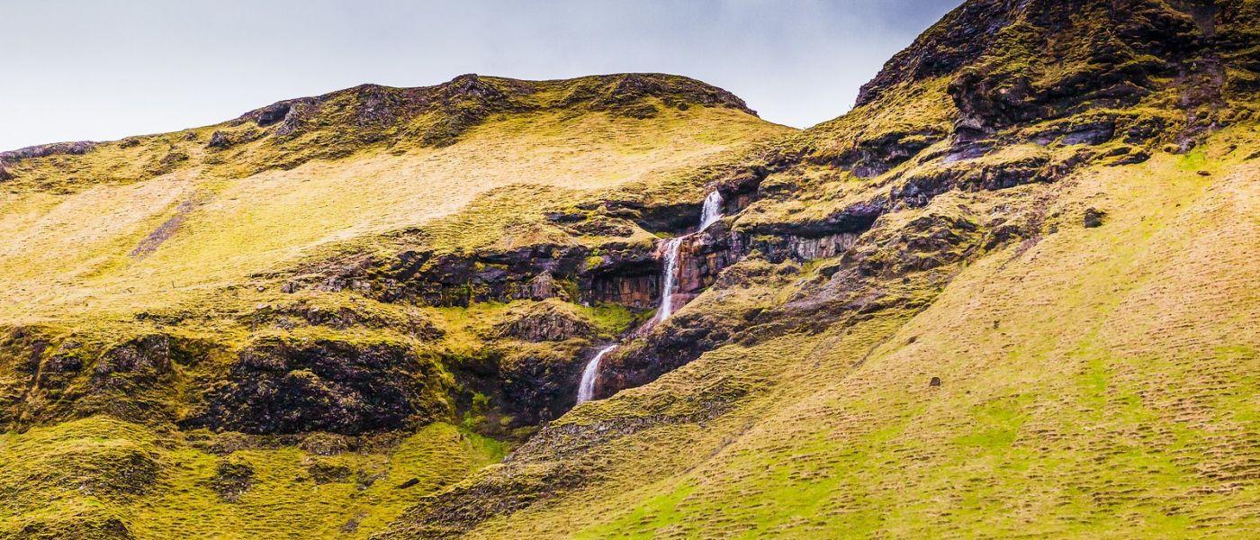 冰岛风采,山间的大小瀑布_图1-5