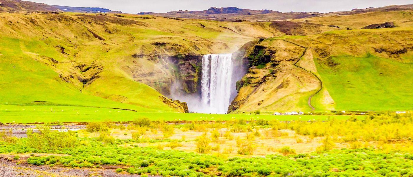 冰岛风采,山间的大小瀑布_图1-1