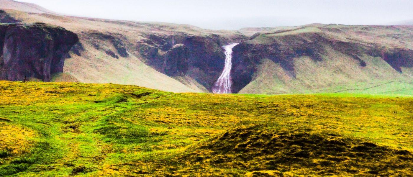冰岛风采,山间的大小瀑布_图1-24