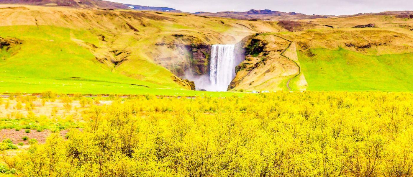 冰岛风采,山间的大小瀑布_图1-22