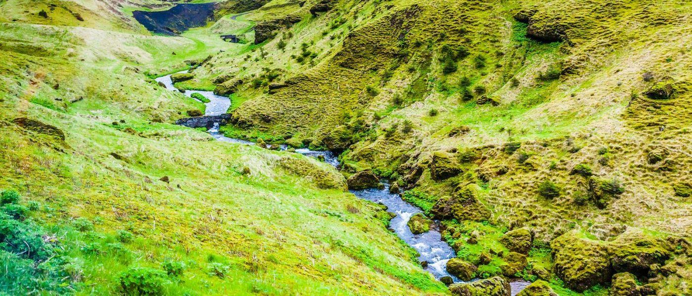 冰岛风采,山间的大小瀑布_图1-25