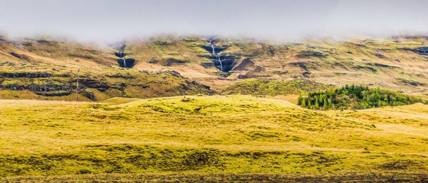 冰岛风采,山间的大小瀑布_图1-29
