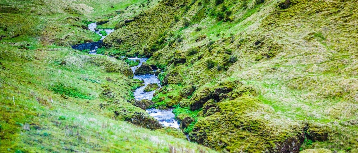 冰岛风采,山间的大小瀑布_图1-28