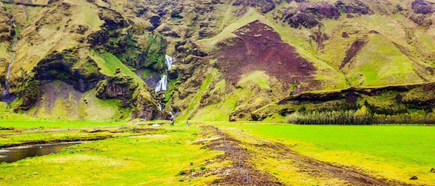 冰岛风采,山间的大小瀑布_图1-33