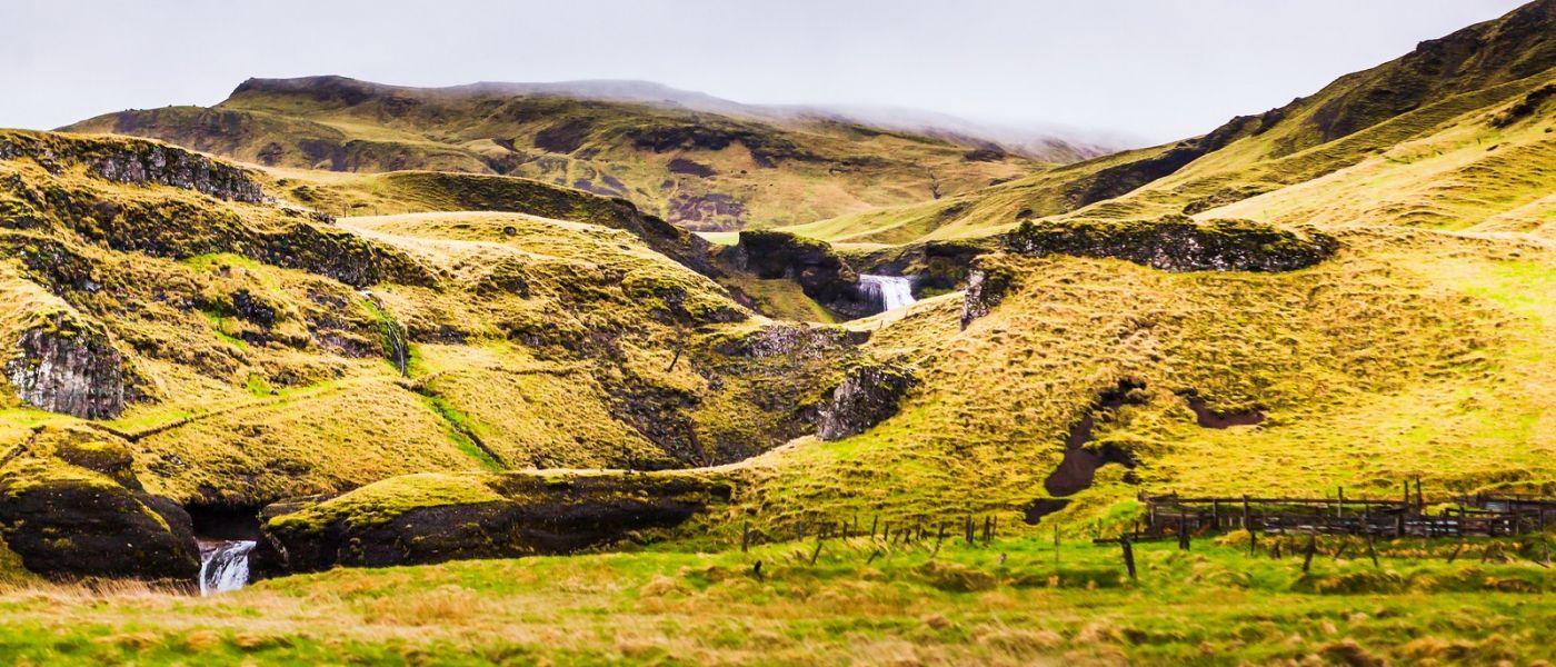冰岛风采,山间的大小瀑布_图1-34