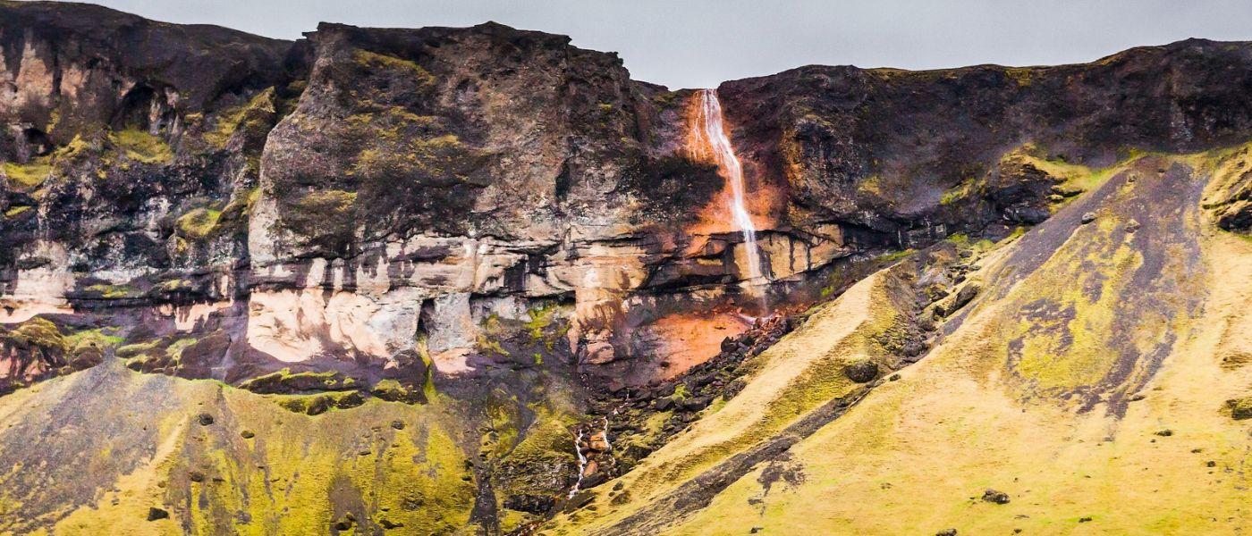冰岛风采,山间的大小瀑布_图1-35