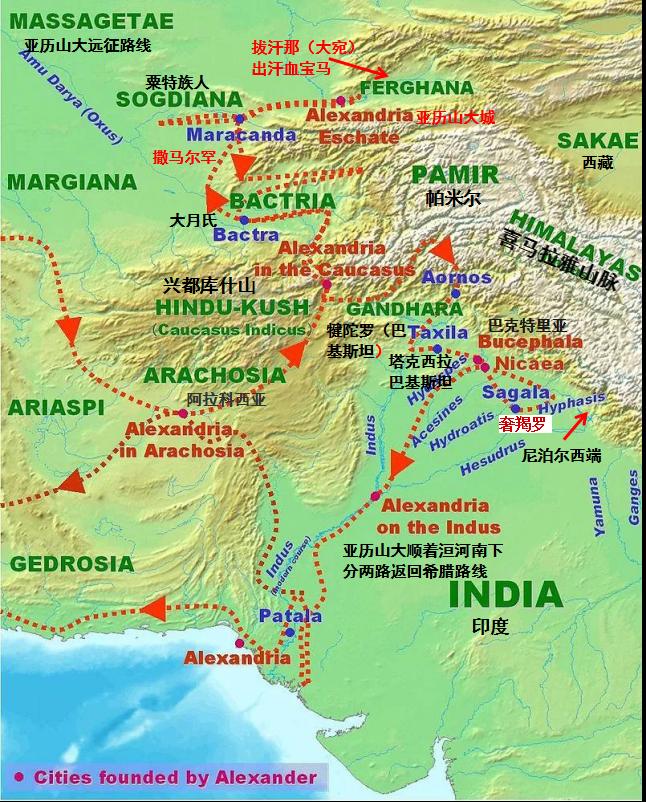 三星堆文明其实是亚历山大帝东征印度、一部分叛军东逃遗存 ..._图1-2