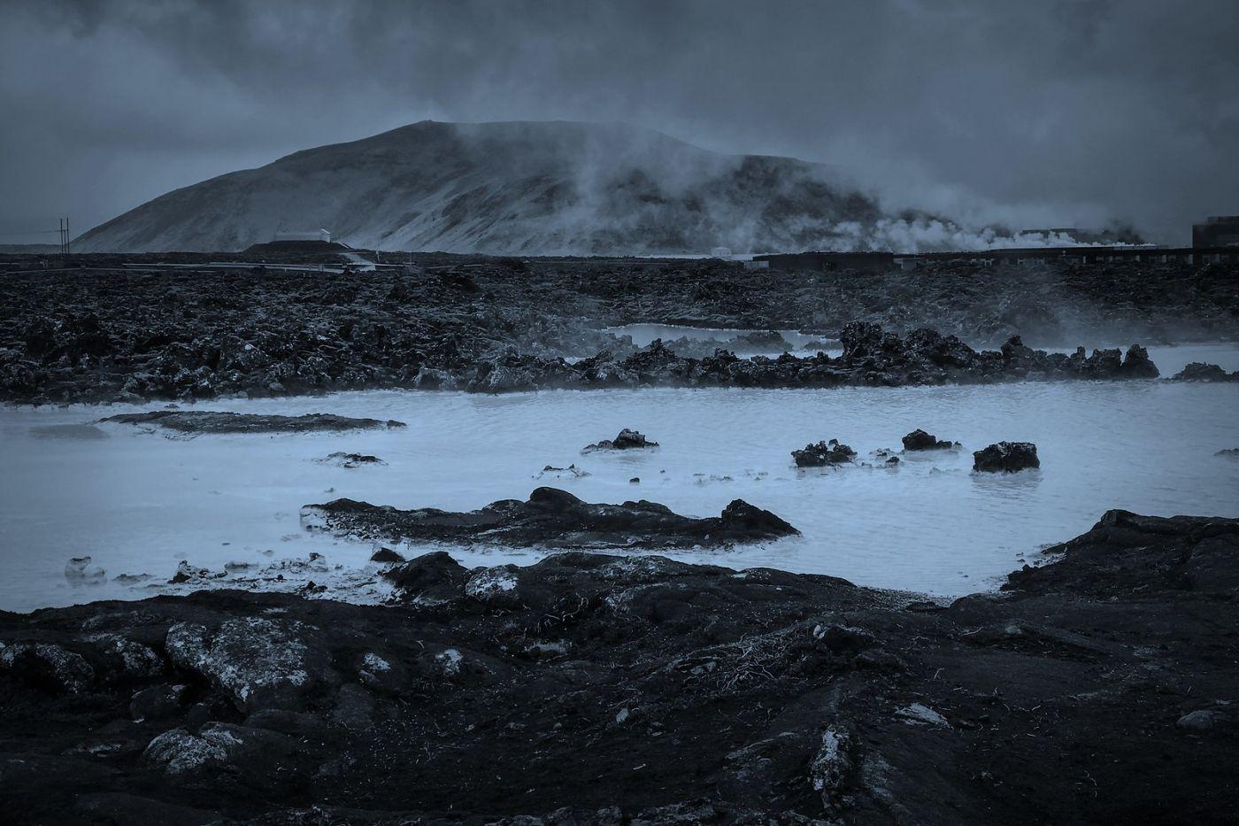 冰岛blue lagoon,泡温泉浴_图1-2