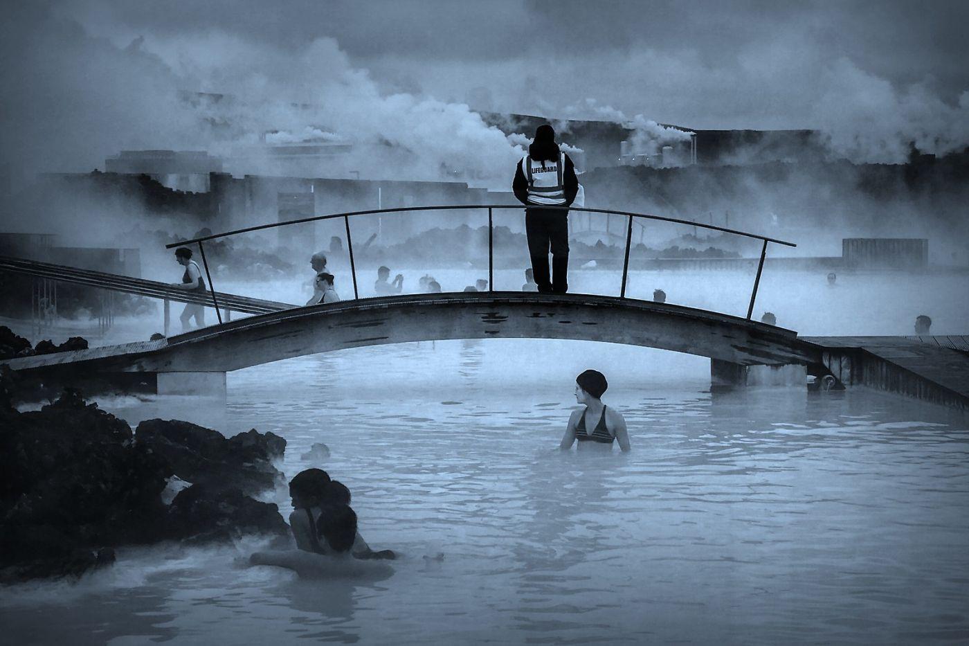 冰岛blue lagoon,泡温泉浴_图1-1