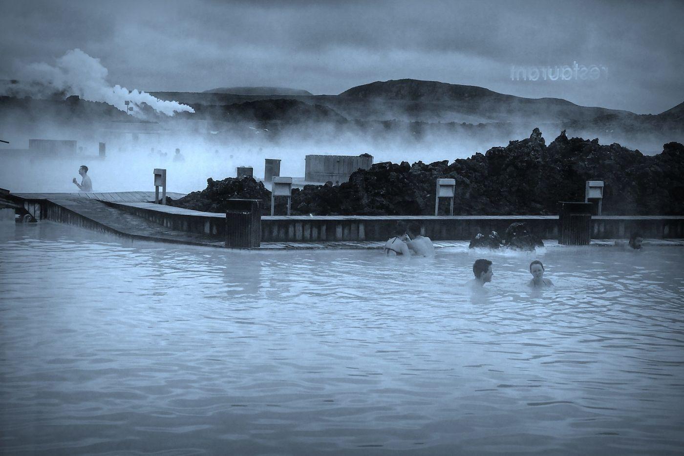 冰岛blue lagoon,泡温泉浴_图1-8