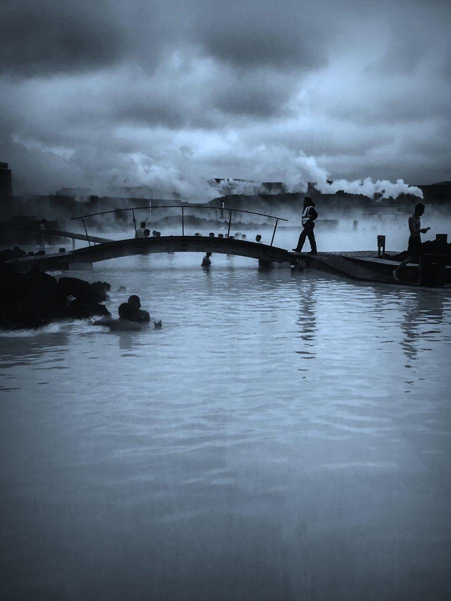 冰岛blue lagoon,泡温泉浴_图1-6