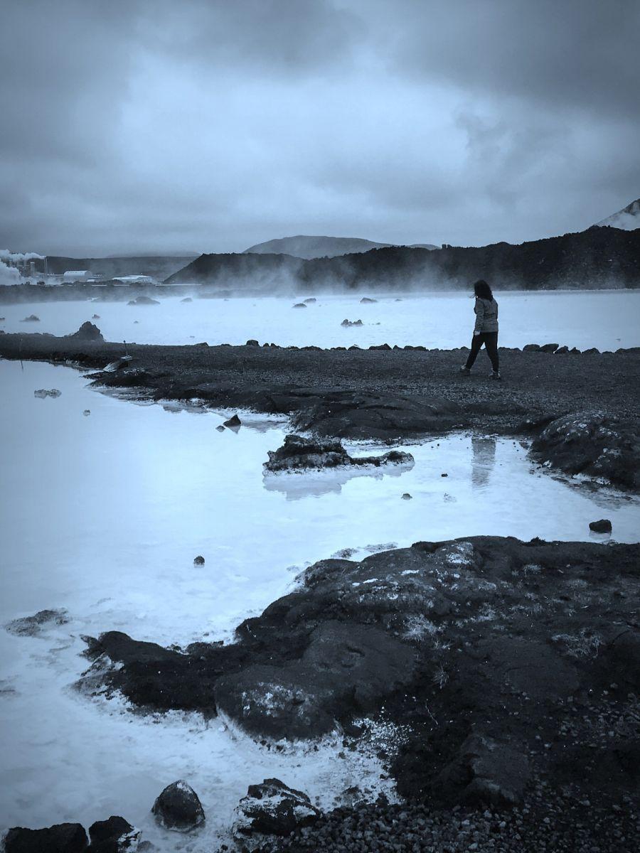 冰岛blue lagoon,泡温泉浴_图1-7