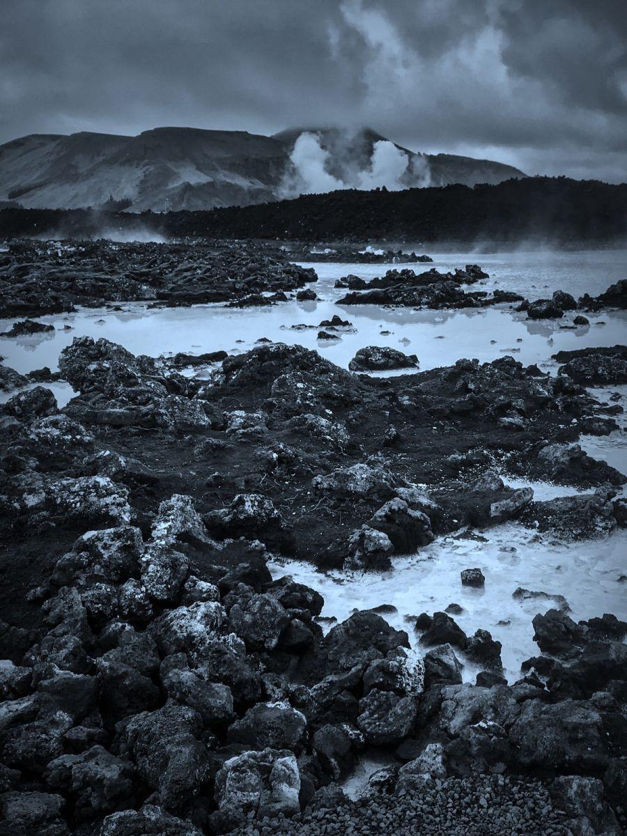 冰岛blue lagoon,泡温泉浴_图1-9
