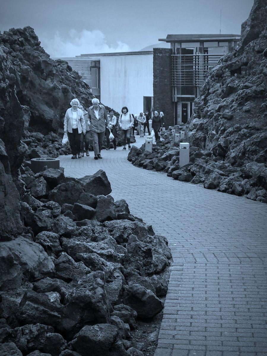冰岛blue lagoon,泡温泉浴_图1-13