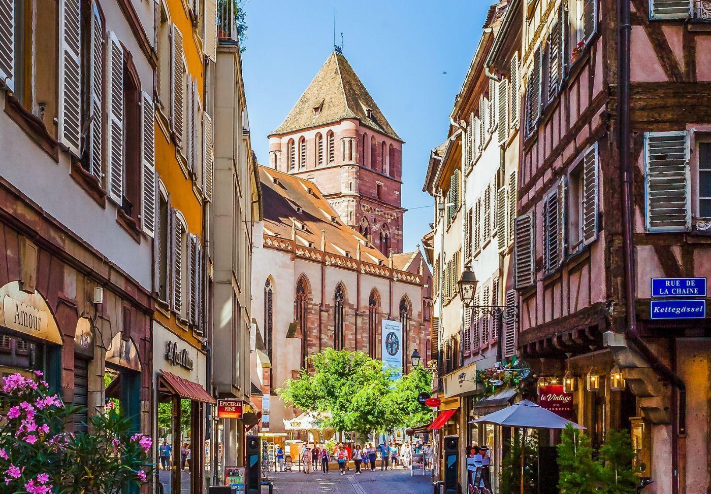 法国斯特拉斯堡(Strasbourg),边走边拍_图1-39