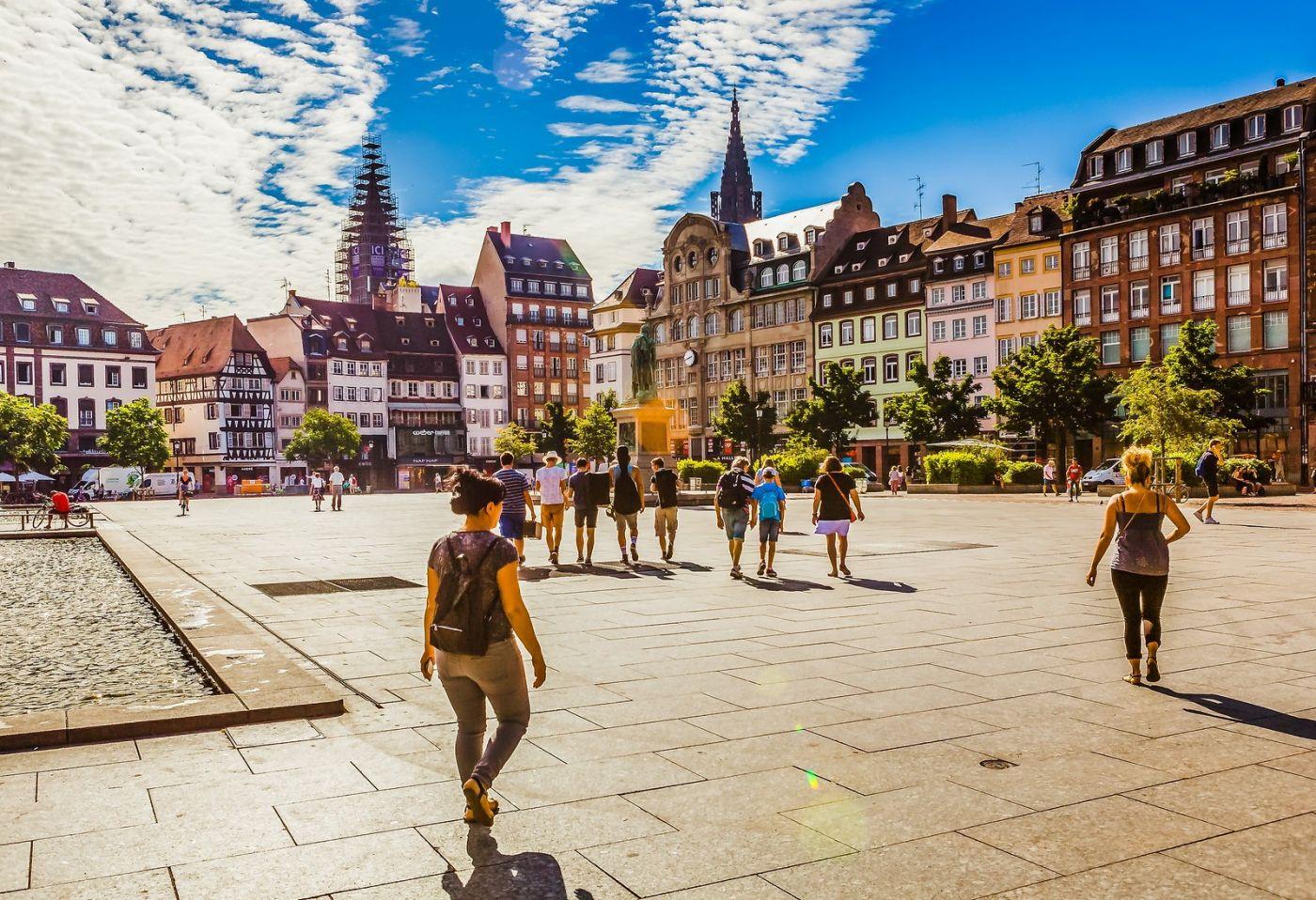 法国斯特拉斯堡(Strasbourg),边走边拍_图1-35