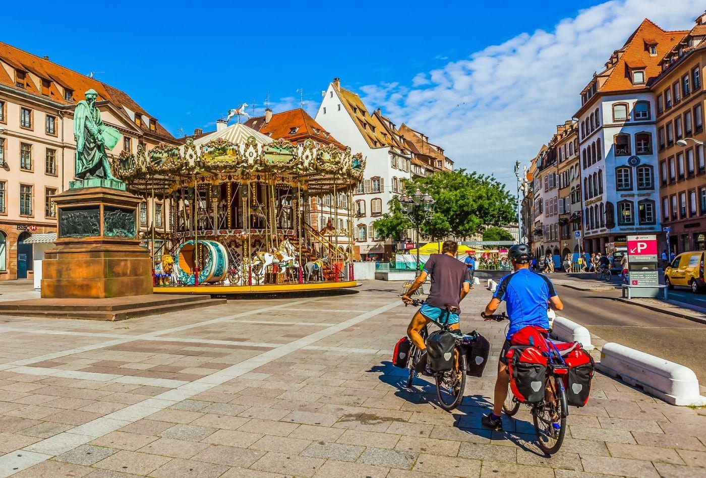 法国斯特拉斯堡(Strasbourg),边走边拍_图1-34