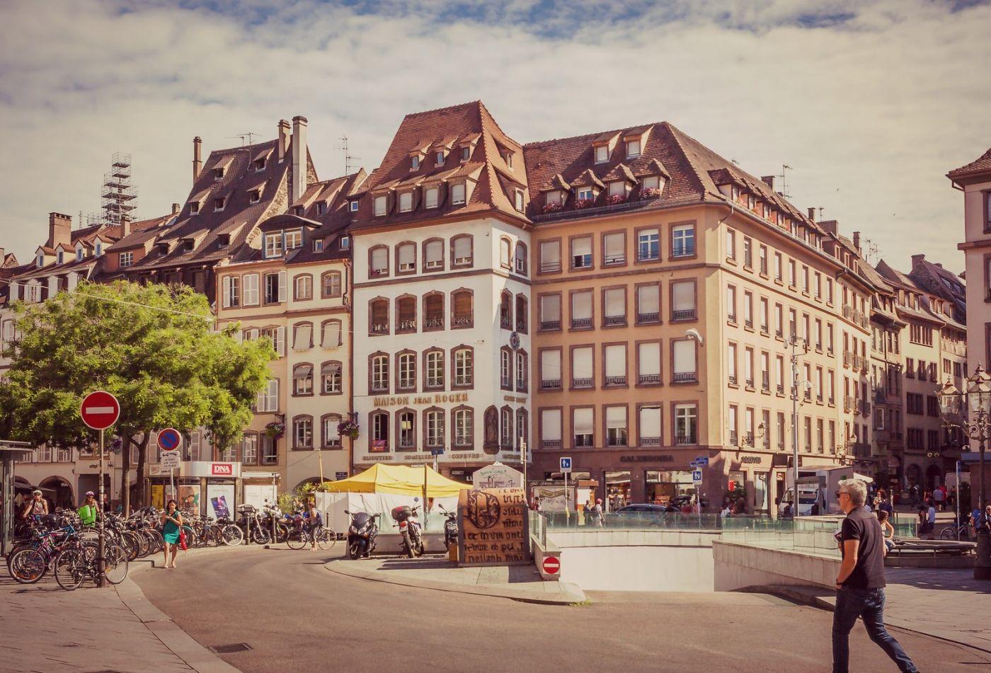 法国斯特拉斯堡(Strasbourg),边走边拍_图1-28