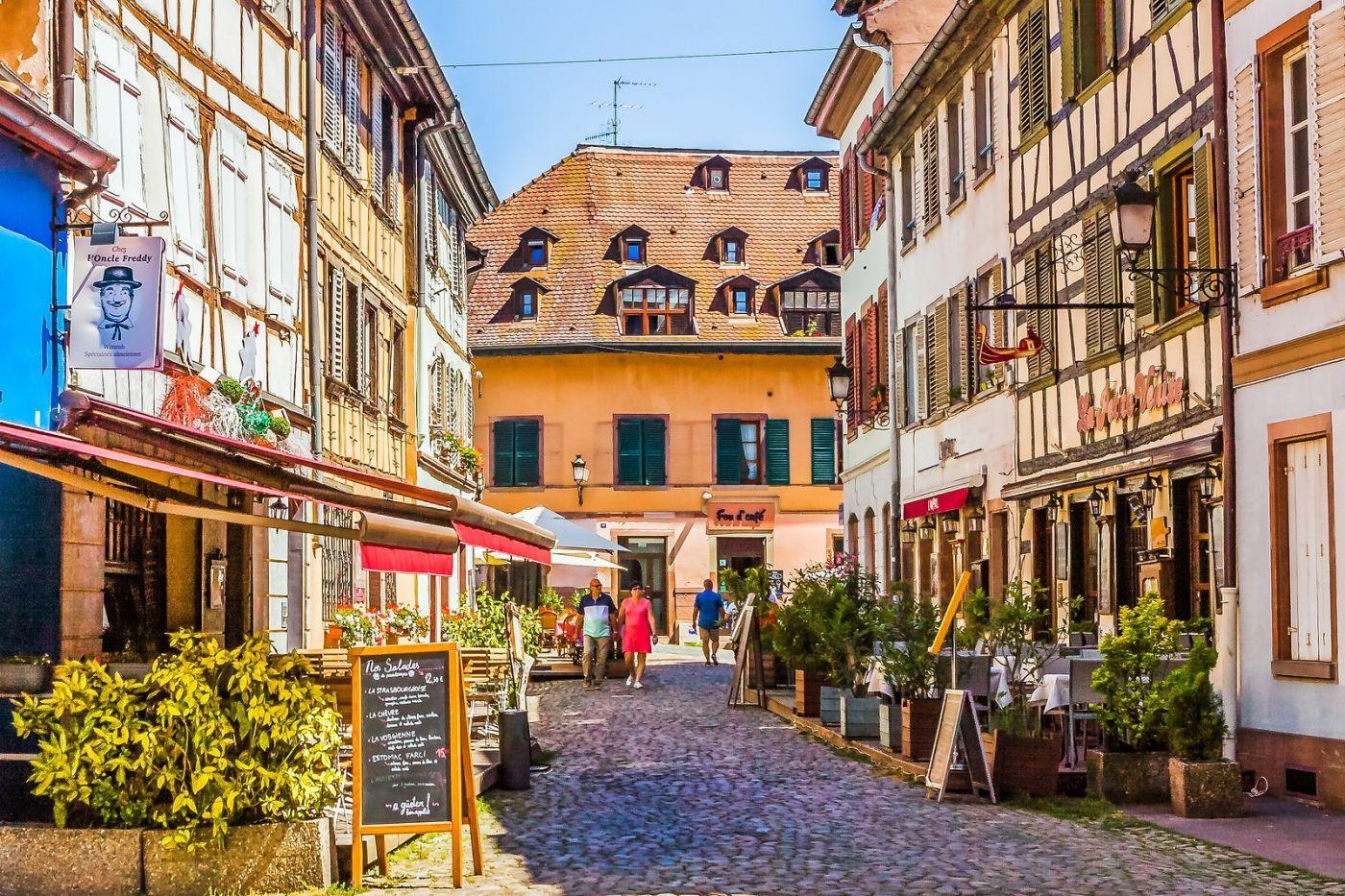 法国斯特拉斯堡(Strasbourg),边走边拍_图1-2