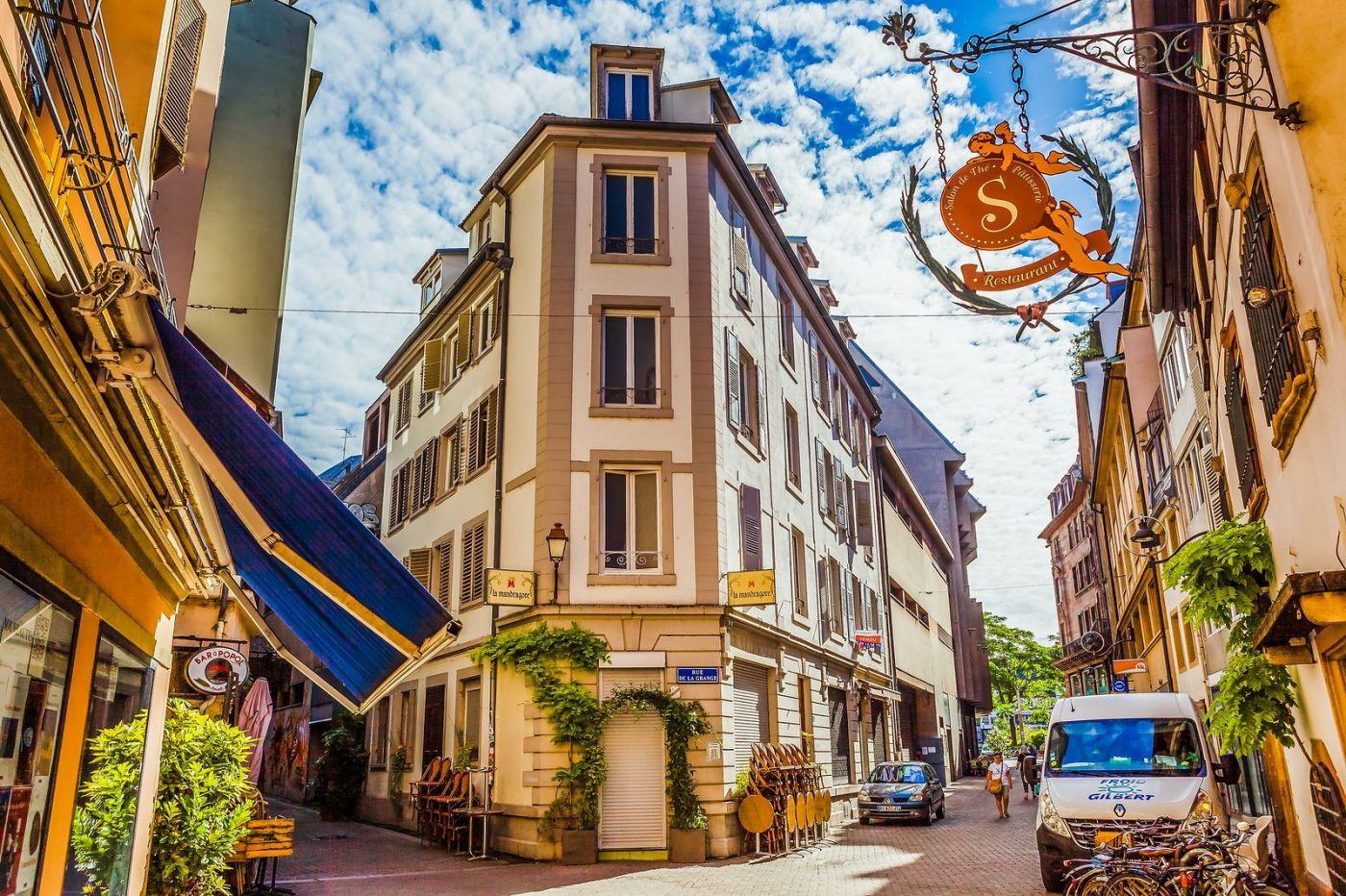 法国斯特拉斯堡(Strasbourg),边走边拍_图1-7