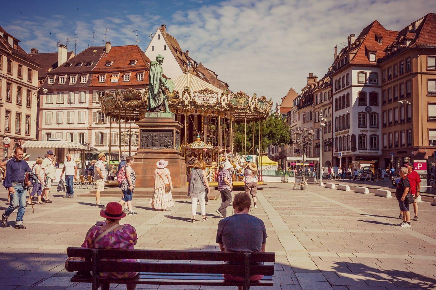 法国斯特拉斯堡(Strasbourg),边走边拍_图1-17