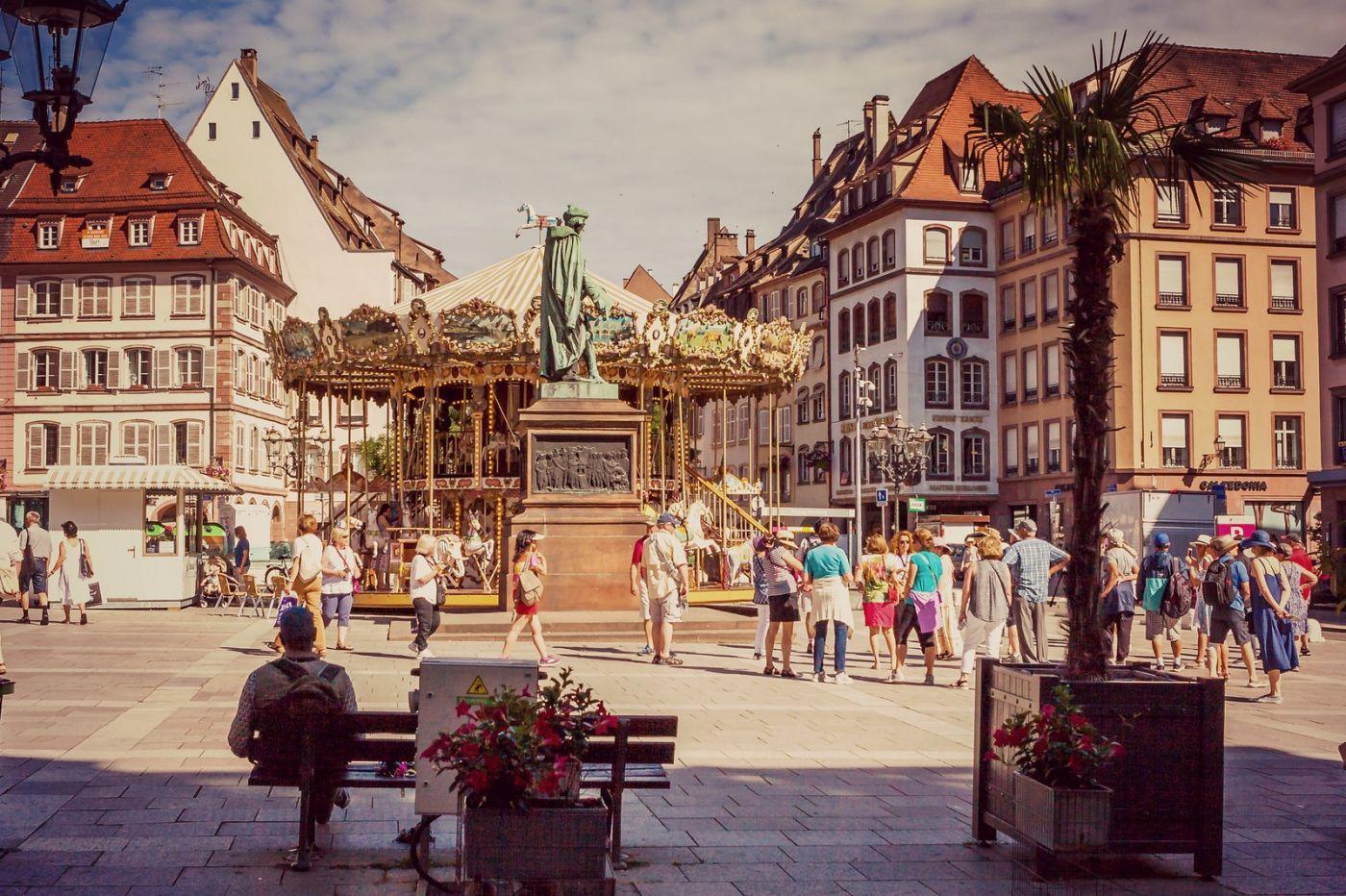 法国斯特拉斯堡(Strasbourg),边走边拍_图1-21
