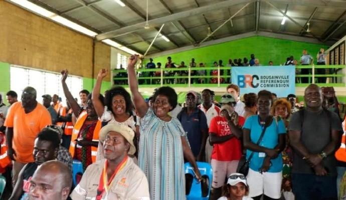 布干维尔岛结束血腥内战20多年后,这个岛屿有望成为世界最新国家 ..._图1-2