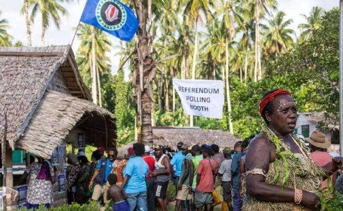 布干维尔岛结束血腥内战20多年后,这个岛屿有望成为世界最新国家 ..._图1-3