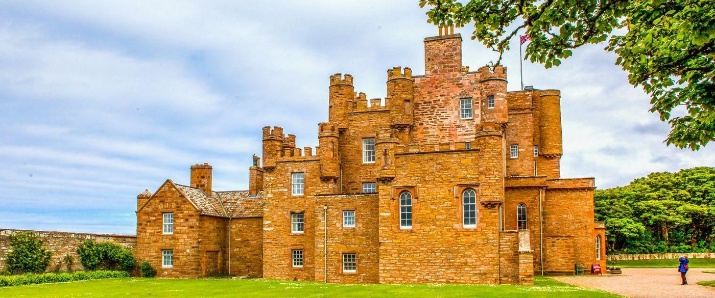苏格兰梅城堡(Castle of Mey),田园生活_图1-18
