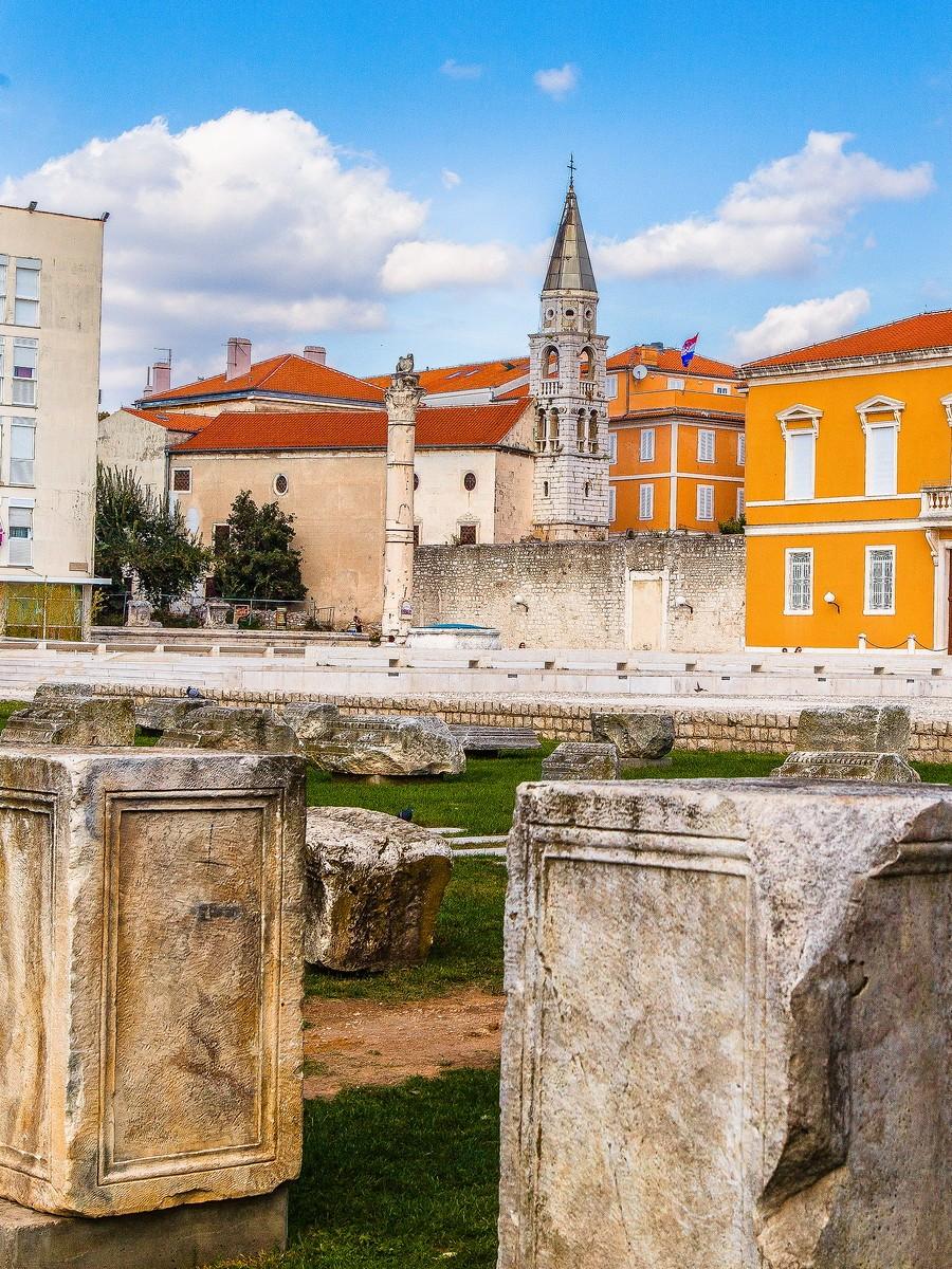 克罗地亚扎达尔(Zadar),看古迹_图1-4