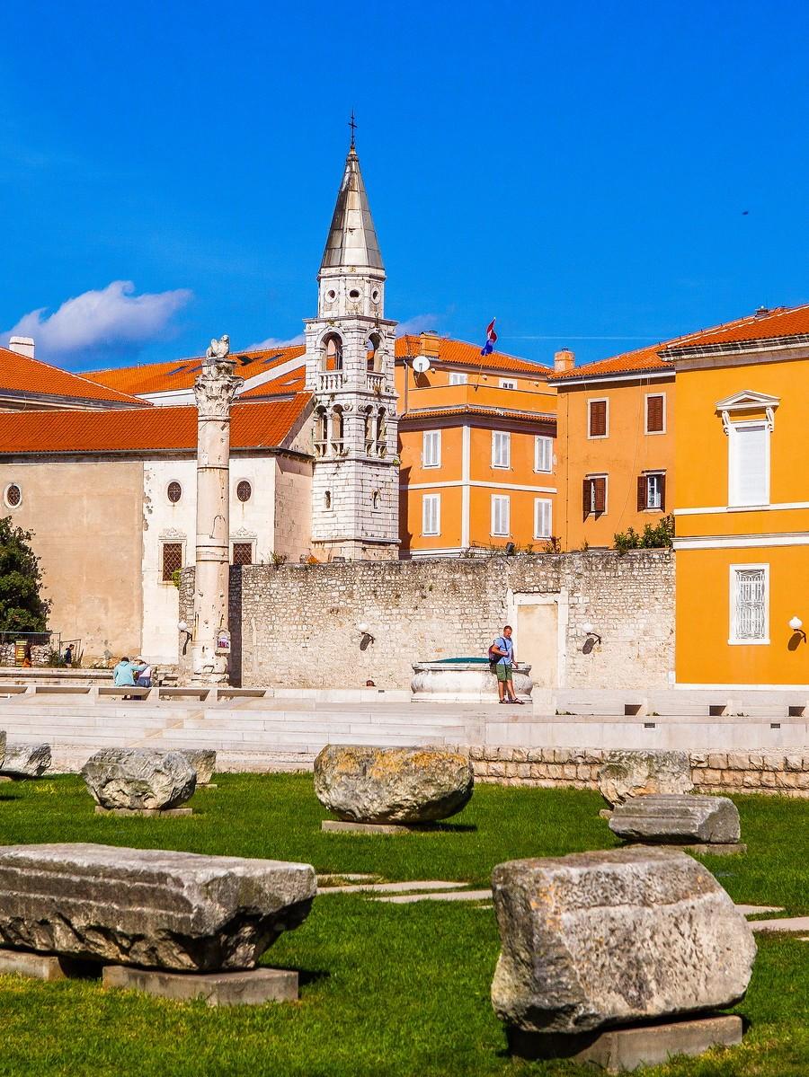 克罗地亚扎达尔(Zadar),看古迹_图1-1
