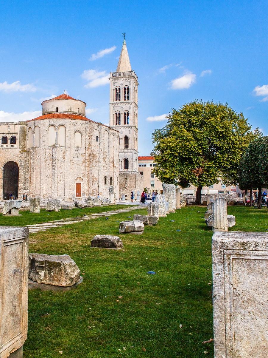 克罗地亚扎达尔(Zadar),看古迹_图1-6