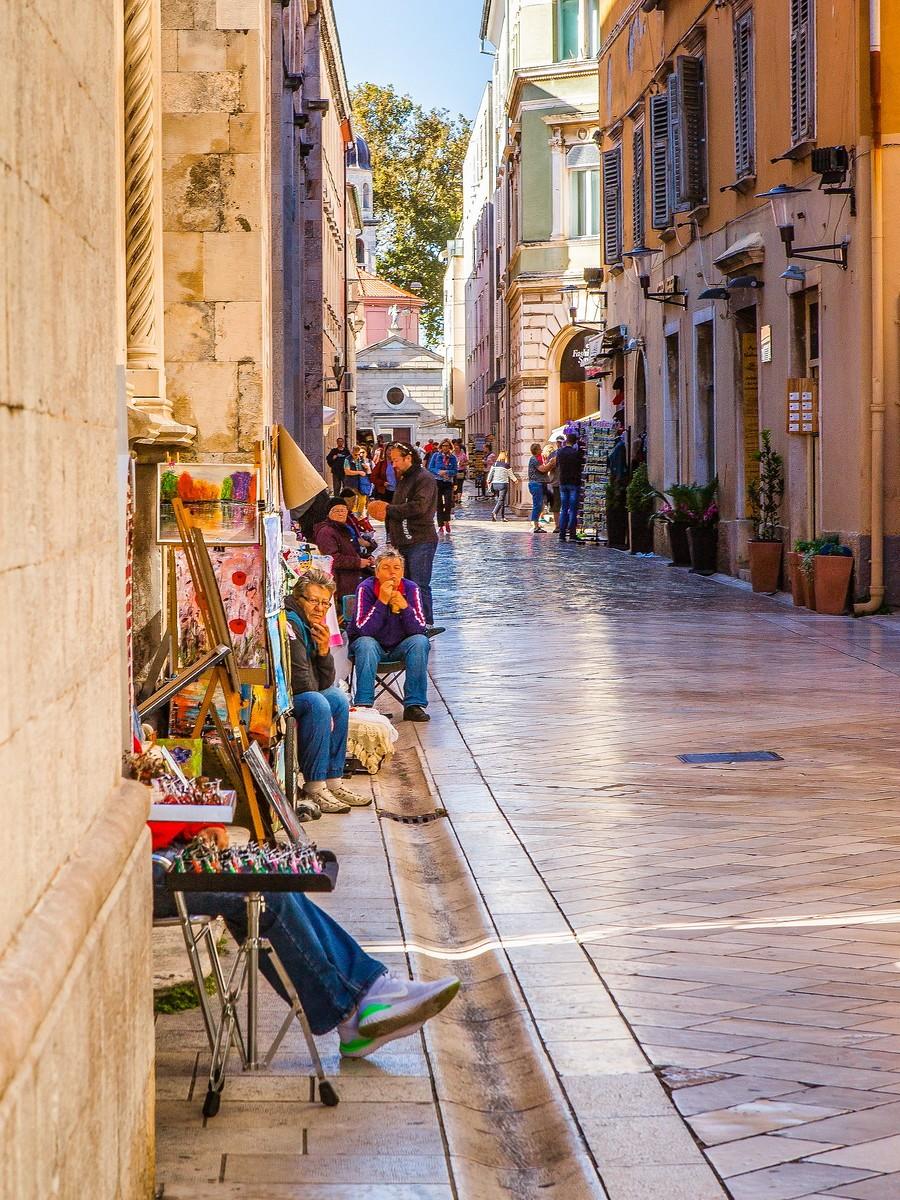 克罗地亚扎达尔(Zadar),看古迹_图1-8