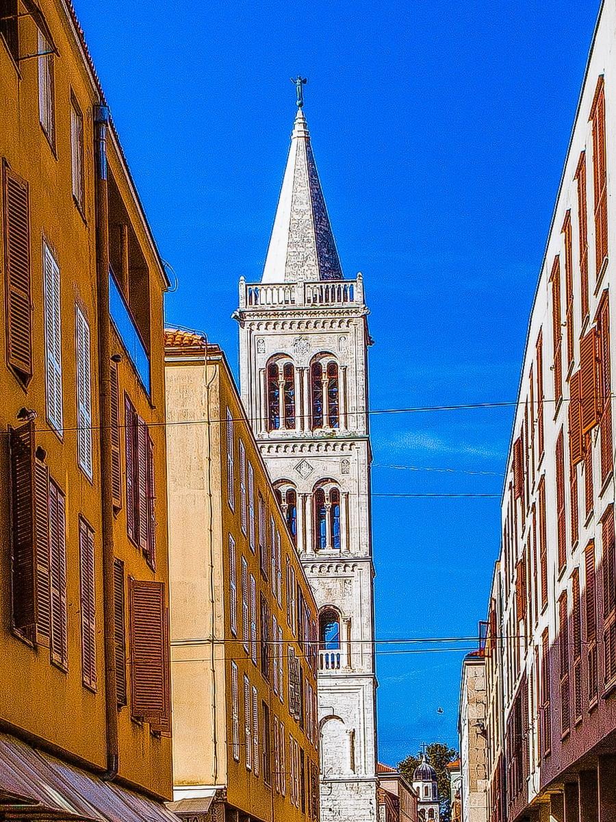 克罗地亚扎达尔(Zadar),看古迹_图1-7