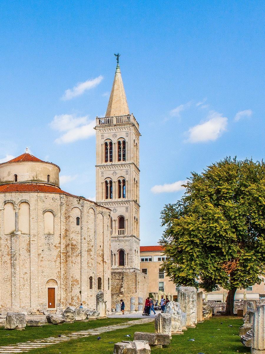 克罗地亚扎达尔(Zadar),看古迹_图1-25