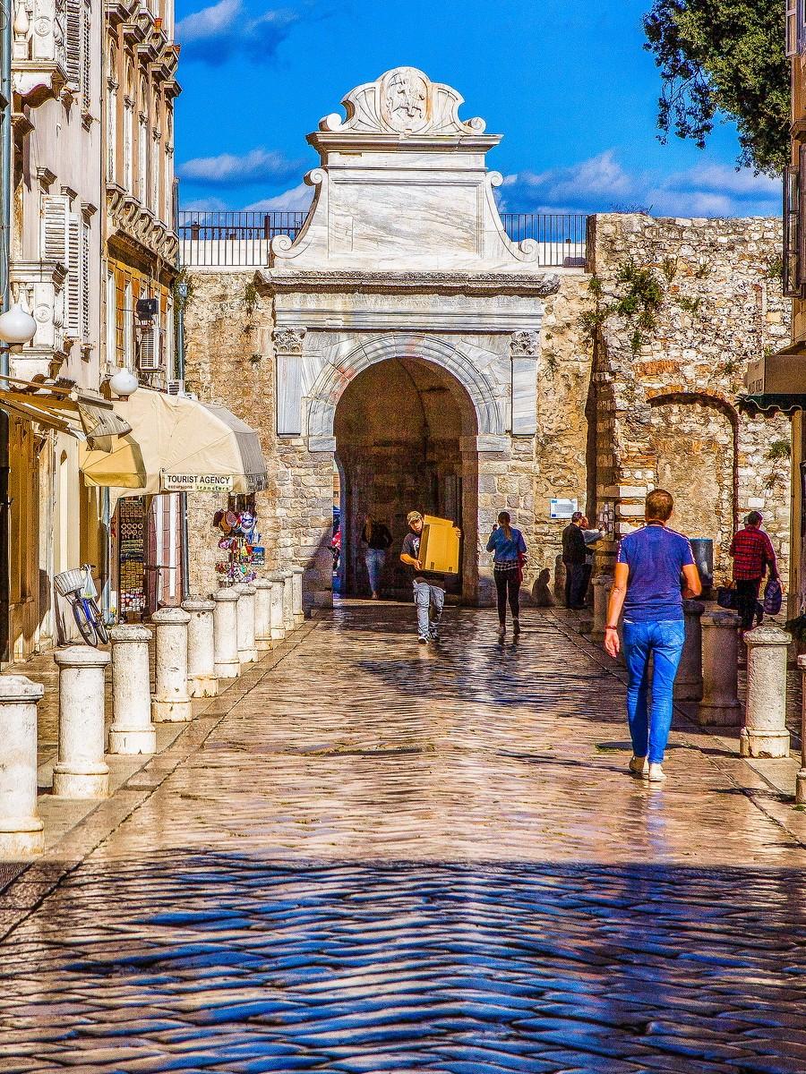 克罗地亚扎达尔(Zadar),看古迹_图1-20