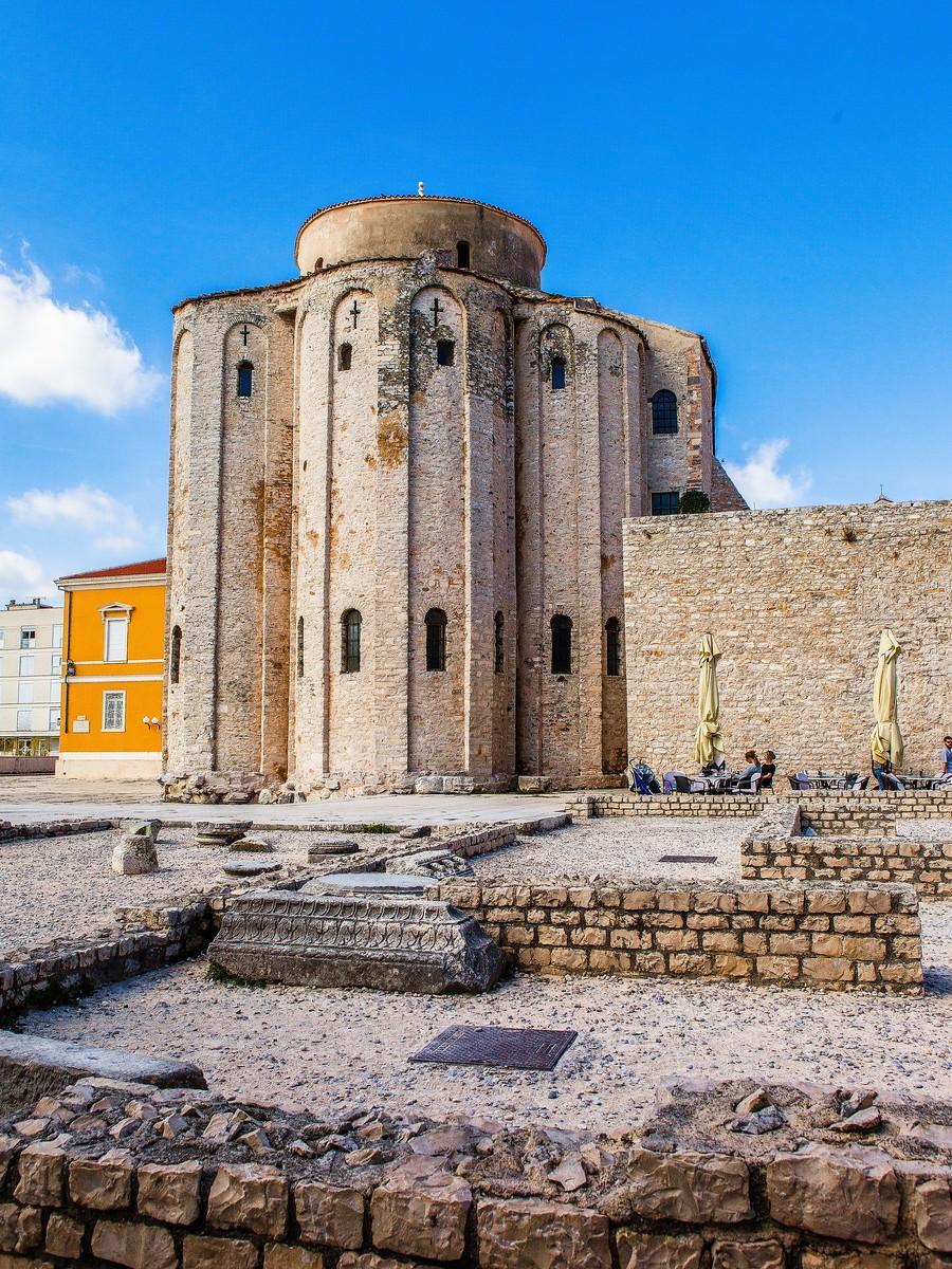 克罗地亚扎达尔(Zadar),看古迹_图1-18