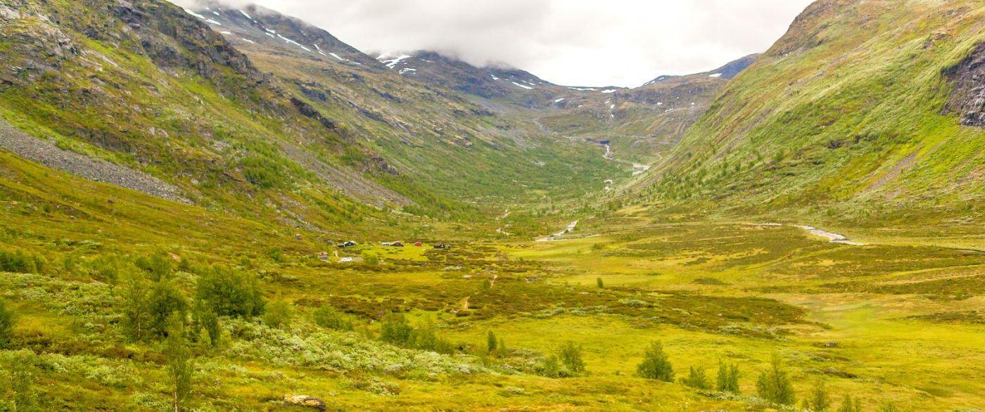 北欧风光,汇聚而下的高山瀑布_图1-32