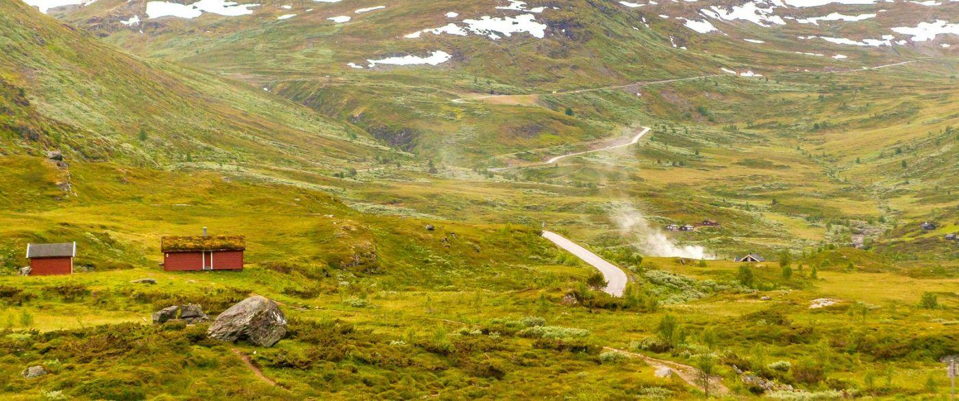 北欧风光,汇聚而下的高山瀑布_图1-10