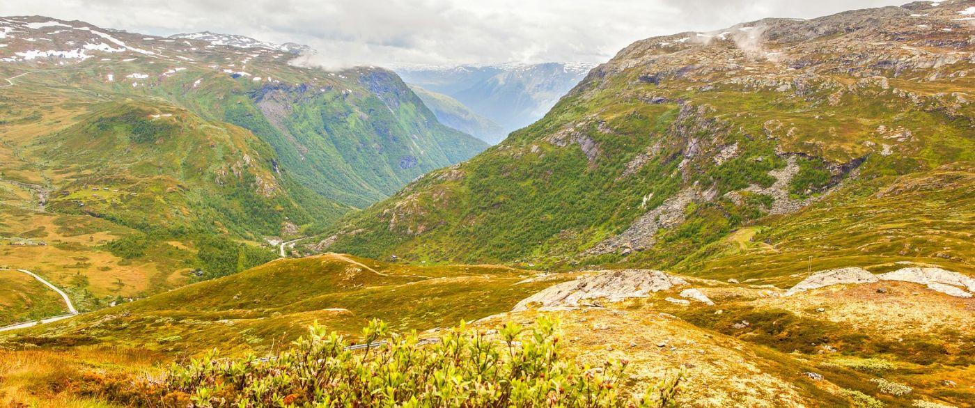 北欧风光,汇聚而下的高山瀑布_图1-14
